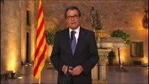 El President Artur Mas convoca els catalans pel 27 S, by Ona Quim Pedret