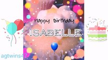 HAPPY B-DAY ISABELLE!(Funny Donut Productions Bff)