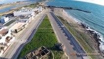 Lido Marini e Torre Mozza   riprese da un drone delle splendide spiagge di Ugento (LE)   Salento