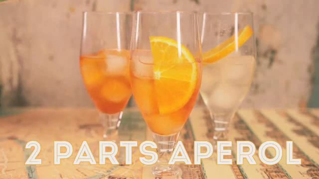 Thirst Quenching Aperol Spritz