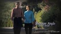 Sharron Angle's Race Baiting Ads Attacking Harry Reid