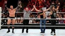 Roman Reigns Dean Ambrose Randy Orton vs Bray Wyatt Luke Harper Sheamus -Raw-Aug 3 2015