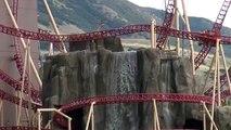 Cannibal Roller Coaster POV 60FPS Lagoon Amusement Park 2015