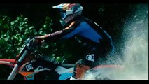 Watch daredevil stunt rider SURF waves on his dirtbike Riding on water