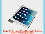 Invision? iPad Air intelligente Fall-Abdeckung - Front-und R?ckenschutz mit Magnet Auto Wecken
