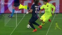 Suarez Nutmegs David Luiz Twice HD