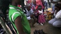 Séance photos de Noël (Pointe Noire - Congo)