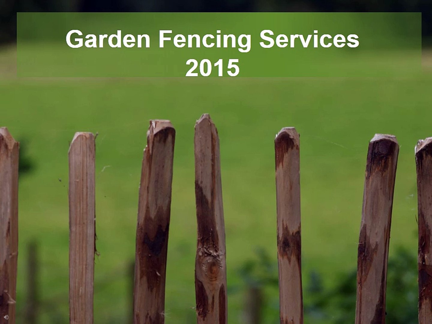 Improve Home and Garden Security With Garden fencing London