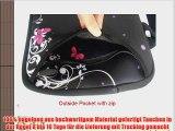 viele Designs 13-13.3 Zoll Laptop Netbook mit Schulterriemen Handgriff-Beutel-Kasten-Abdeckung