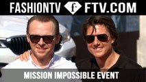 Mission Impossible Event at FashionTV Cafe, Vienna ft. Tom Cruise | FashionTV