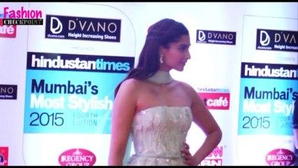 Sonam Kapoor's SEXY BACKLESS GOWN Avataar   IIJW 2015