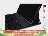 Belkin QODE Ultimate Tastatur mit H?lle aus Aluminium Autowake-Funktion f?r Apple iPad Air