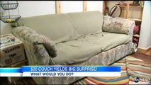 New York Roommates Buy $20 Used Couch, Find $40K in Cash; Money Returned To 91-Year-Old Widow