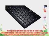 Cooper Cases(TM) B1 universelle Bluetooth Funktastatur f?r Acer Iconia Tab B1-710 / B1-720