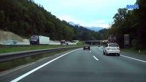 Fahrt von Deutschland nach Österreich  A93 / A12 Richtung Innsbruck