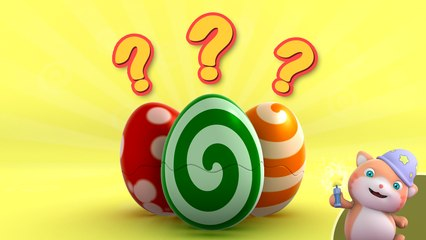 Kids Learn English | Looi's Surprise Eggs | Vegetables | Tomato | Broccoli | Carrot