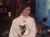 Alyssa Milano on the Ellen Show