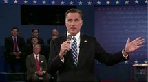 Romney differs himself from Bush, Obama makes case for reelection - Town hall debate 2012