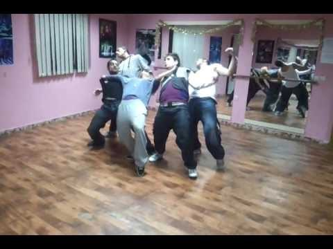 "Vesa Luma HIP HOP dancing gjate provave-""Boom"" Making of Video feat. Big Basta"