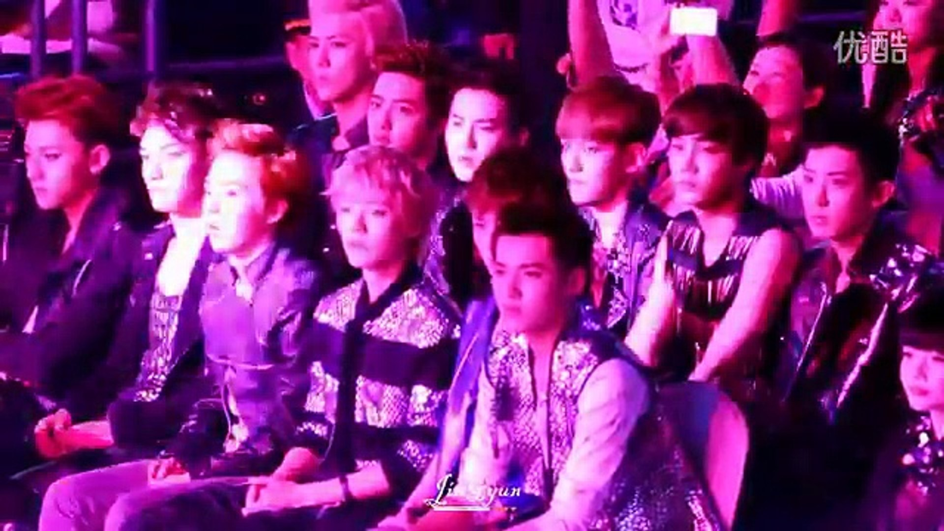 Fancam] 130414 EXO's reaction LOL - video Dailymotion