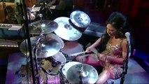 Sheila Escovedo. Drum Solo Week on Letterman