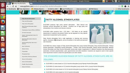 Ethoxylate Resource   Learn About, Share and Discuss