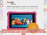 Fire HD 6 Kids Edition 152 cm (6 Zoll) HD-Display WLAN 8GB Pink Kindgerechte Schutzh?lle