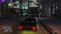 GTA 5: Cruising in custom Stallion / XBOX ONE