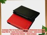 Echtleder PRS-T3 Tasche: Beste STCase Rindsledertasche f?r Sony PRS T3 - Luxus Cow leather