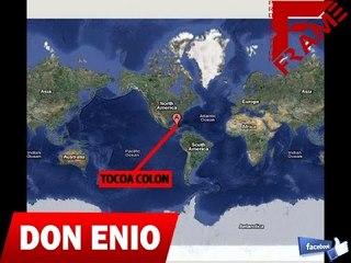 Don Enio - Saludos a todo el publico en TOCOA COLON