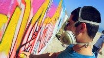 New Graffiti professional paint sprays