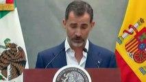 EMOTIVIA DESPEDIDA DE LOS REYES DE ESPAÑA VIDEO REY FELIPE VI DICE QUE DEJA SU CORAZÓN EN MÉXICO