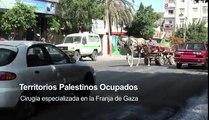 MSF.Cirugía especializada en la Franja de Gaza, Territorios Palestinos Ocupados