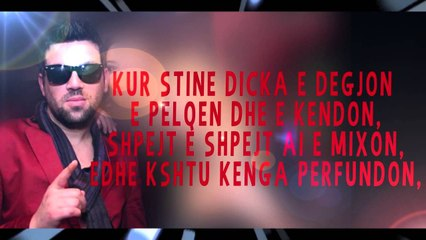 Stine ft A.P.G ft LRC Me e mira (Official Lyrics Video)