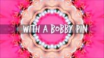 Polka Dot Nails with a Bobby Pin (no dotting tool)