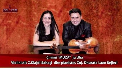 "Akademia Muzikore ""MUZA"" nderon me cmimin ""MUZA"" Z.Klajdi Sahatci dhe Znj. Dhurata Lazo"