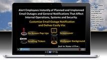 How to Send and Notify Employees of Email Outages and Reduce Help desk Call Volume - IT Outage Alert Software For IT Communication