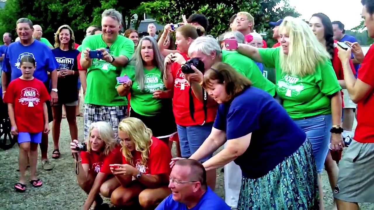 SMITH FAMILY REUNION 2014 – PICTURE TIME – ORANGE SHIRTS