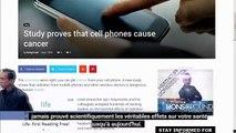 Le rayonnement des téléphones portables provoquent le cancer avec la preuve scientifique