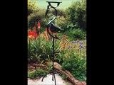 Iron Vein metal work: hand forged steel garden sculptures and furniture.
