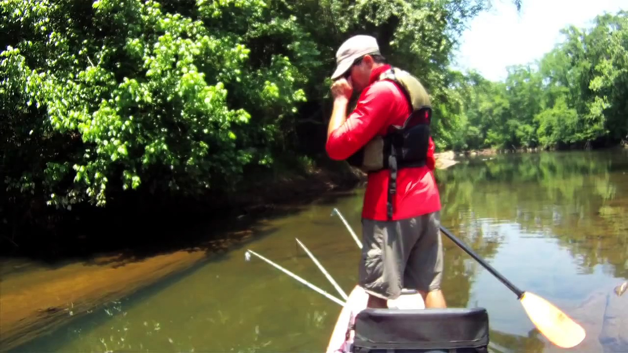 Kayak Bass Fishing – River Fishing