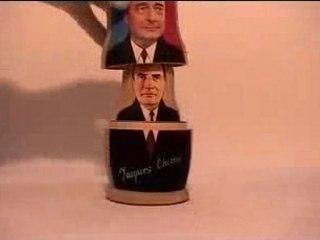 Les présidents mis en boîte