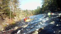 Kayaking the Gold, Nova Scotia
