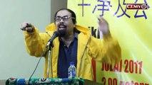 """Kalau takut sangat, tepi sokong """"Bersih""""..bawalah anak anak makan jagung Kuning - Hishamuddin Rais"""