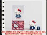 Tribe FD004307 Hello Kitty 4 GB Speicherstick Lustig USB-Stick Figur Flash Drive 2.0 Schl?sselanh?nger