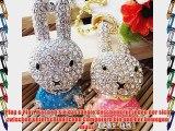 8GB Kaninchen Hase Schmuck USB-Stick Speicher mit k?nstlichen Diamantkristallen und Schl?sselanh?nger-Ideal