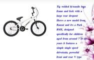 Banzai Boy's BMX Bikes  White