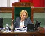 Poseł Jagna Marczułajtis-Walczak - Wystąpienie z dnia 04 sierpnia 2015 roku.