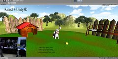 Kinect and Unity3D with gestures and voice Recognition (gestos y voz microsoft kinect SDK)