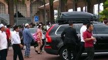 Indonesian President Joko Widodo and PM Najib Motorcade in malaysia